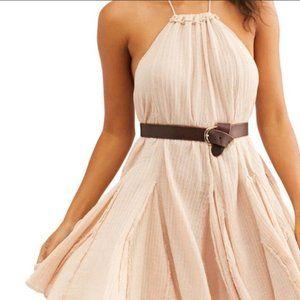 Free People Tunic Halter Dress